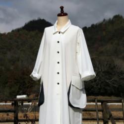 白木綿のコート(作品No1154)画像