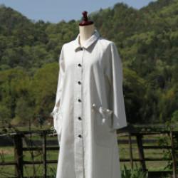 播州織綿のコート(作品No1165)画像