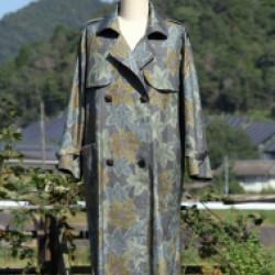 大島紬のコート(作品No1191)画像