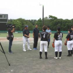 兵庫ブルーサンダーズ女子硬式野球チーム始動画像