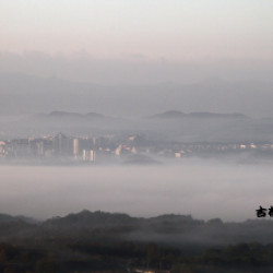 「天空の街三田」出現画像
