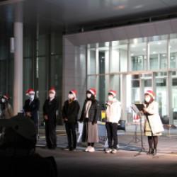 12月1日より、三田市は「SANTA CITY」になりました。画像