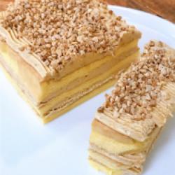 アーモンドモカケーキ