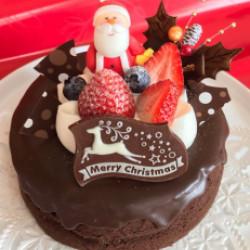 クリスマスガトーショコラ