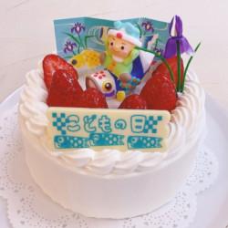 子どもの日のケーキ