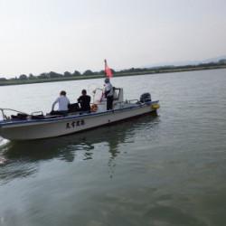 操船、初めての挑戦