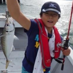 親子で近場のアジ釣り