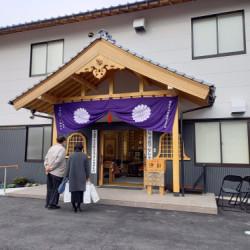 お寺様の立派な建物が完成しました。