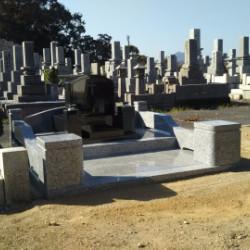 洋墓が完成しました。