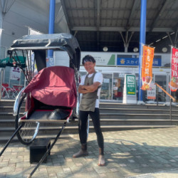 飛騨古川人力車「維」yui