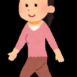 正しい歩き方③【体幹の使い方】