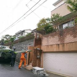 神戸市北区A様邸 足場組立画像