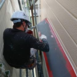 神戸市北区A様邸 錆止め塗装画像