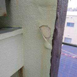神戸市灘区 ハイツ外壁補修画像