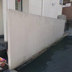 神戸市中央区 擁壁塗装画像