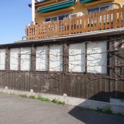 神戸市北区店舗 木部塗装画像