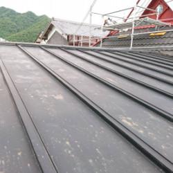 兵庫県三田市 瓦棒屋根塗装画像