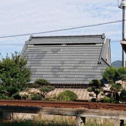 神戸市北区 合掌屋根塗装画像