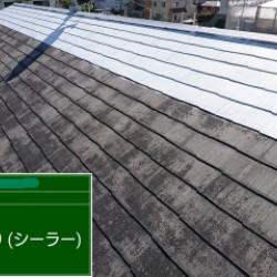 神戸市西区 ハイツ屋根塗装画像