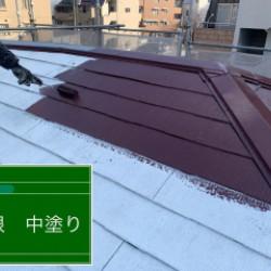 兵庫県芦屋市 屋根塗装画像