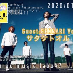 本日FMおとくに第7回Tarurec music labo放送!!