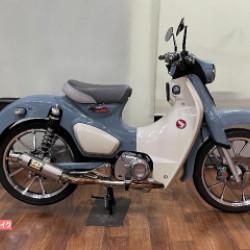 ホンダスーパーカブC125 ヨシムラマフラー
