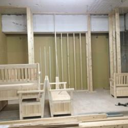 平野区フオトスタジオ工事画像