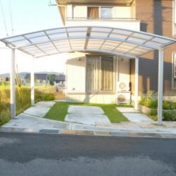 奈良県 王子町 カーポート工事画像