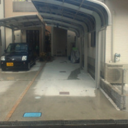 東大阪 カーポート工事画像