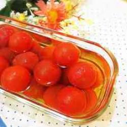 プチトマトのハニーマリネ