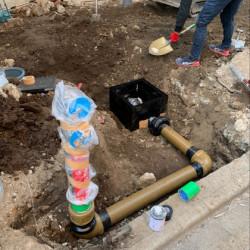 消火配管敷設・埋設工事