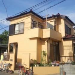 加須市 杉山邸塗装工事