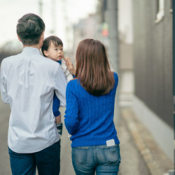 「ママとパパ」神奈川県横浜市