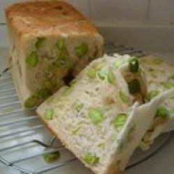 枝豆&チーズ食パン