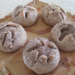 二層ライ麦パン