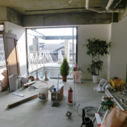 大阪の軽天、内装、ボード工事なら