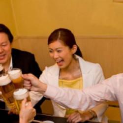 コース料理が美味しいと宴会に人気
